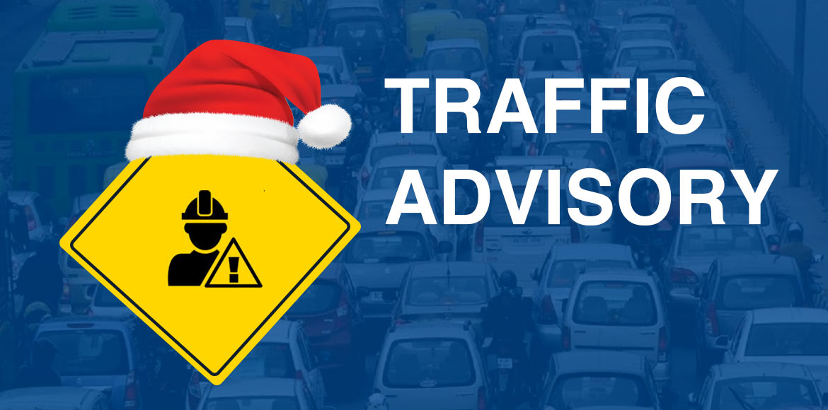 Delhi Police issues traffic advisory on Christmas