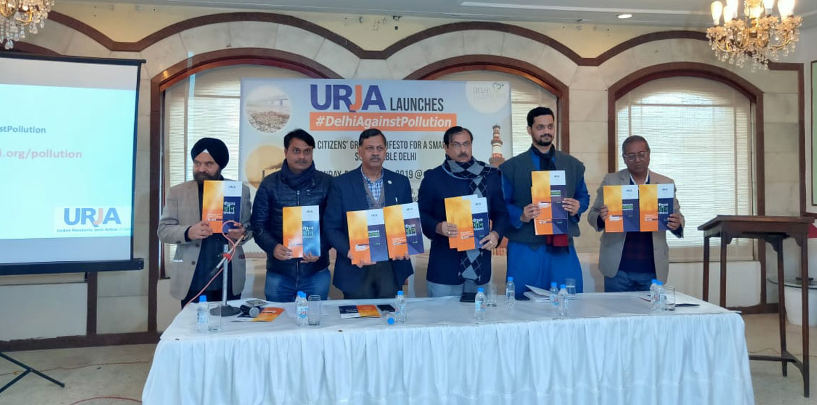 Ahead of Delhi elections, URJA releases people's manifesto