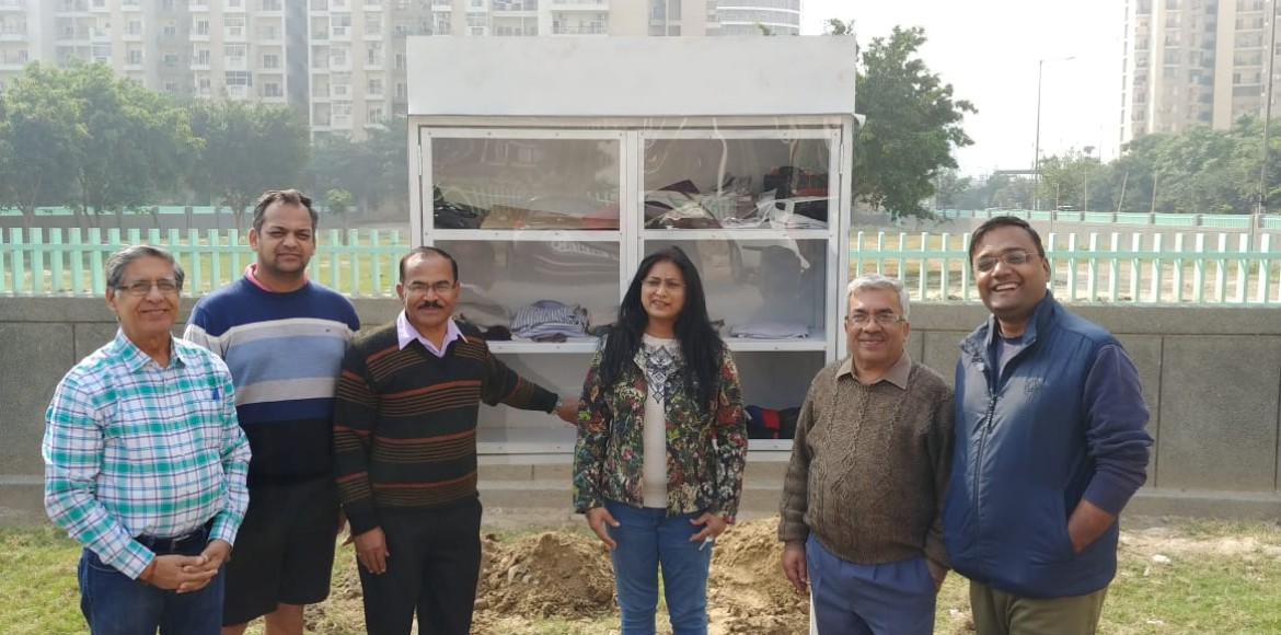 Sector 137 Samaritans reach out to the needy with a wall of help