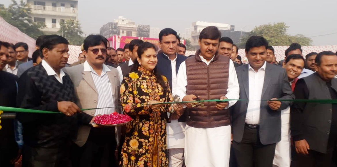 Noida Authority opens gym in Sector 110 public park