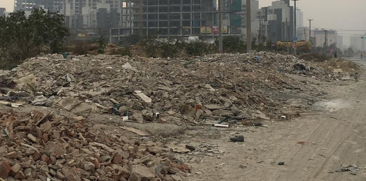 MCG starts plant at Basai to clear Gurugram of C&D debris