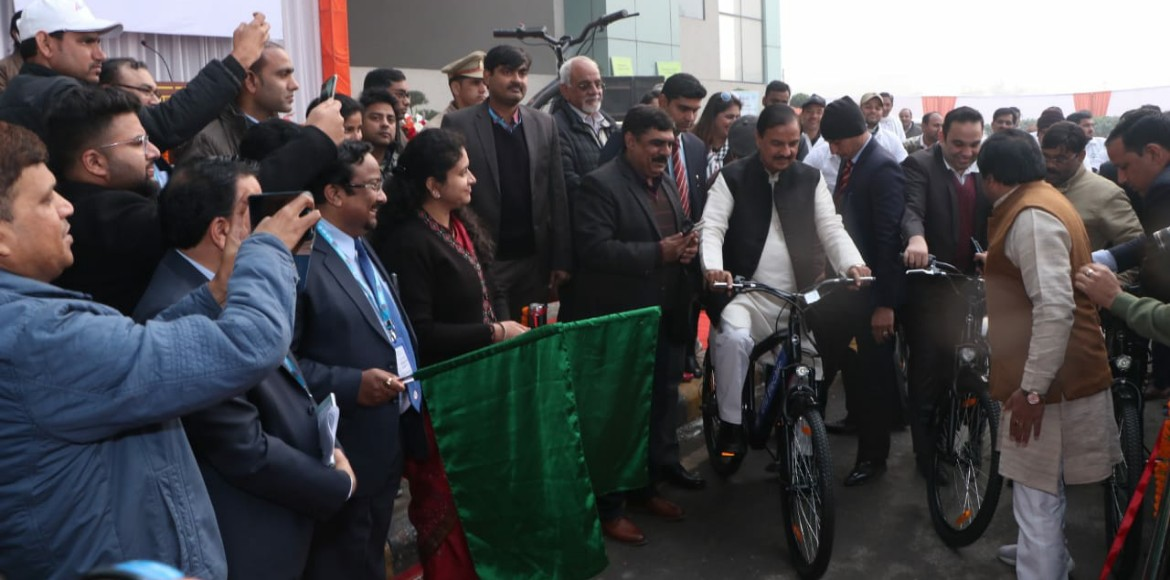 Noida: E-cycle facility for last mile connectivity