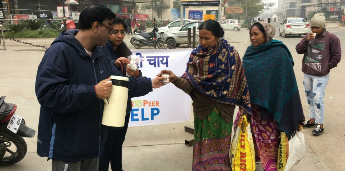 Chai langar – an initiative by GreNo group to beat the chill