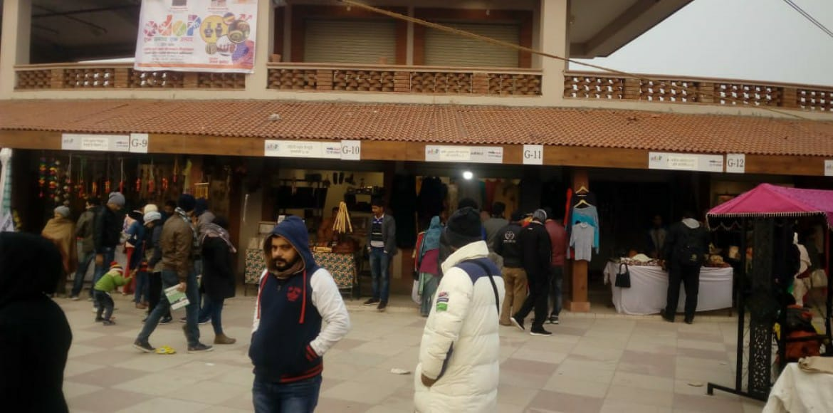 New Year gift to UP artisans: 50 outlets at Noida Haat