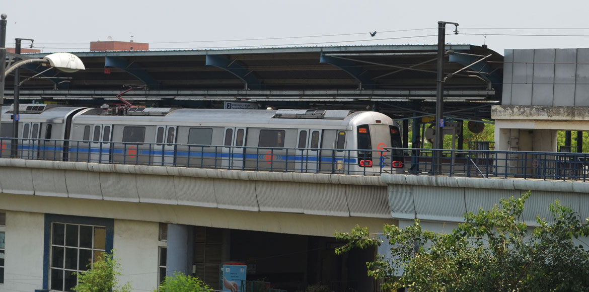 Delhi Metro services affected on Blue Line