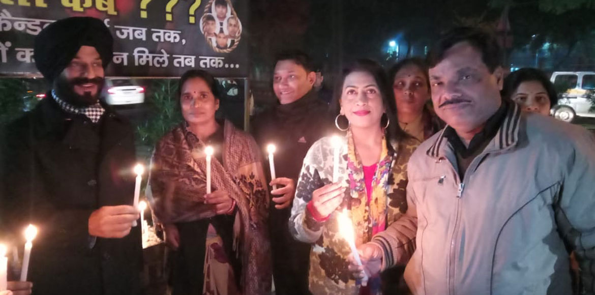 Justice for Nirbhaya: Candlelight vigil pays off