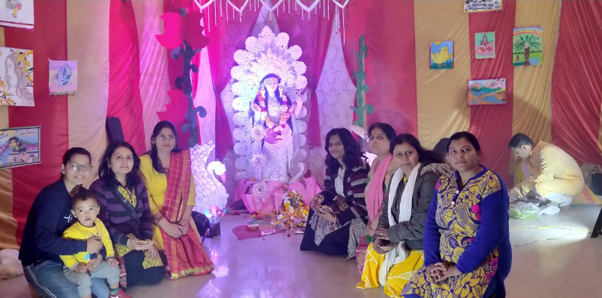 Rishabh Cloud 9: Saraswati Puja celebrated as per two different cultures