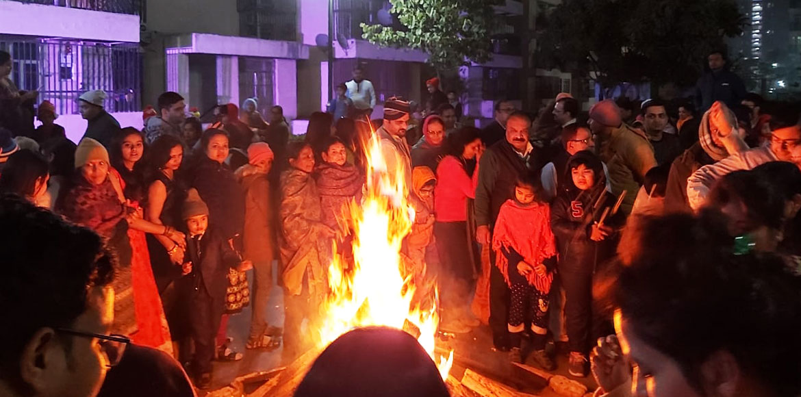 GreNo celebrates Lohri with traditional fervour