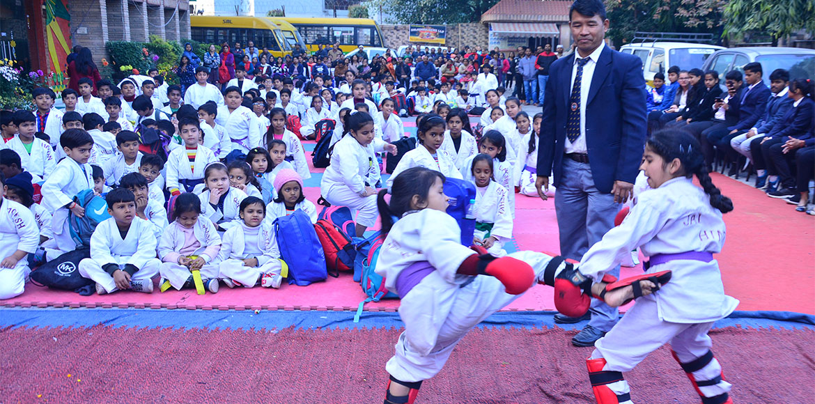 Children turn out in huge numbers to participate at Sparkle 2019-20
