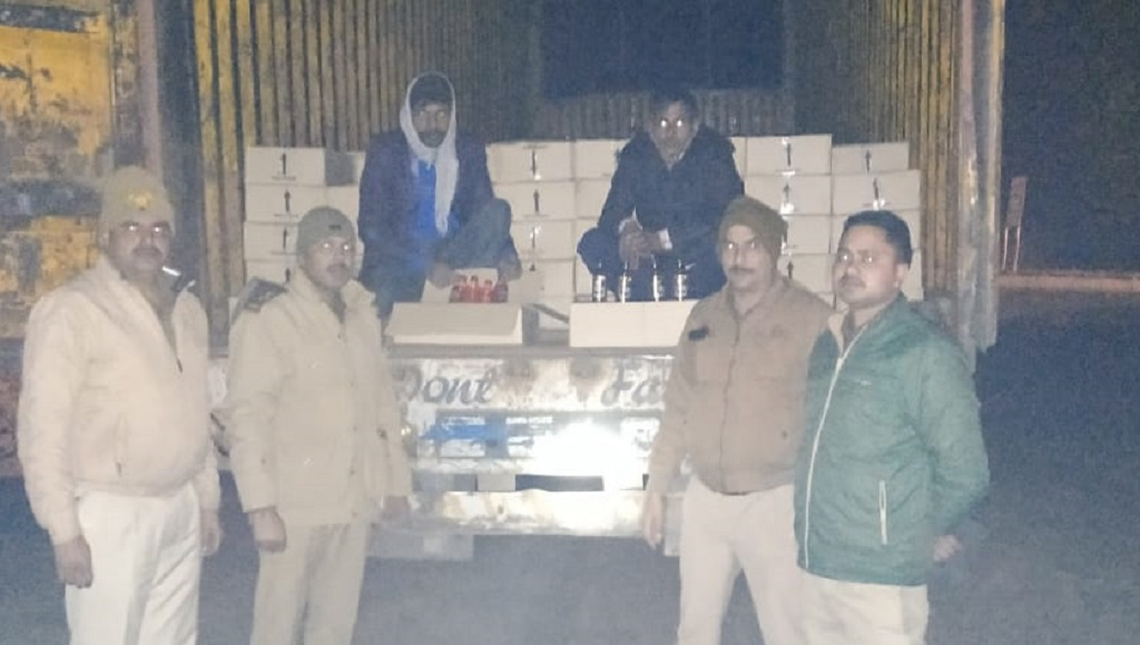Two men arrested with illegal liquor at Greater Noida