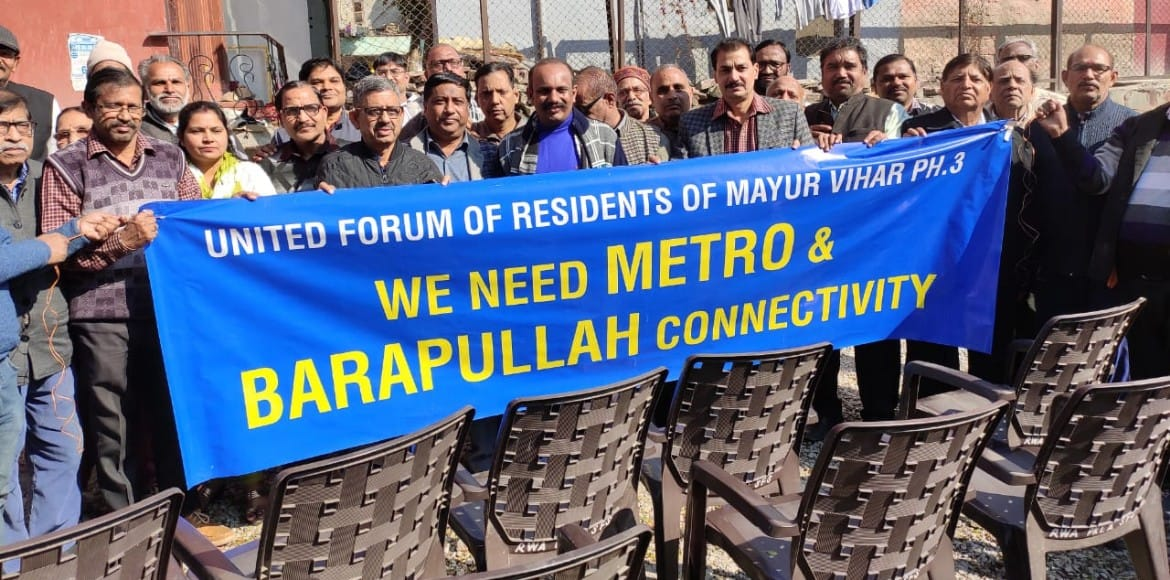 Mayur Vihar-3 demand for Metro connectivity gains momentum
