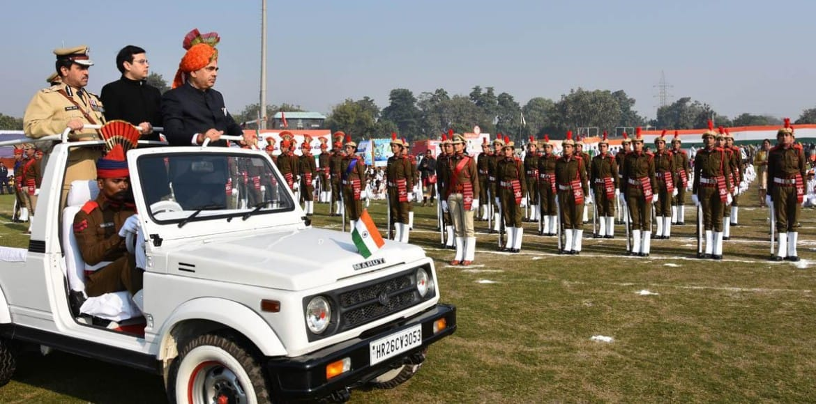 District-level grand ceremony marks Republic Day in Gurugram
