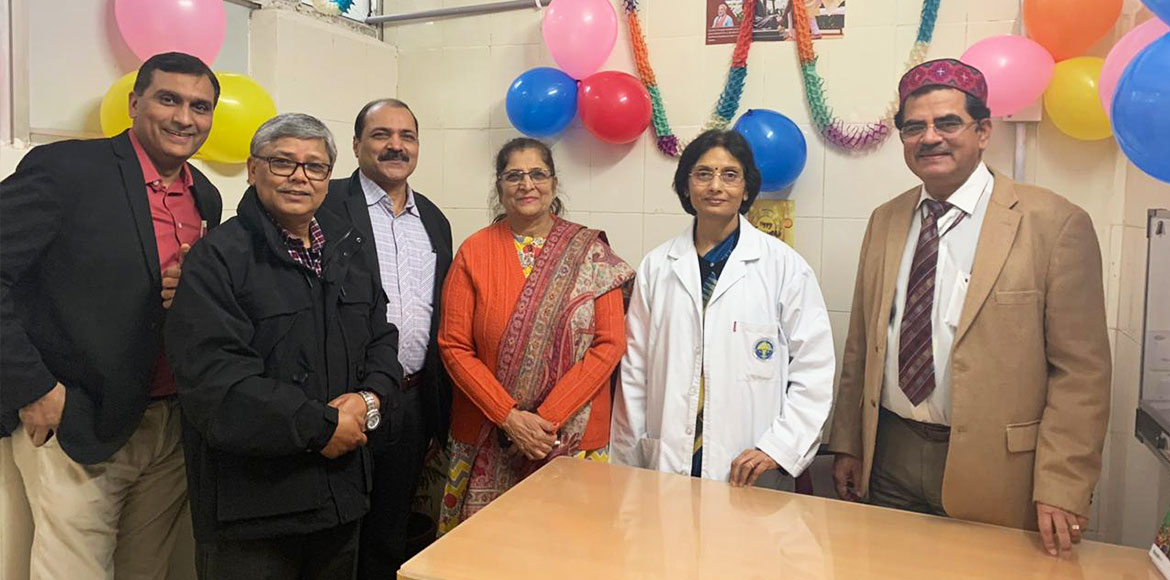 New OPD for senior citizens in RML Hospital