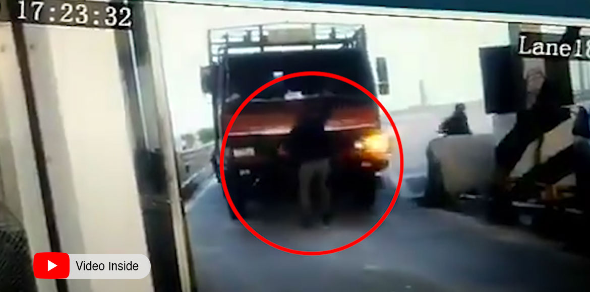 Road rage: Truck driver mows man at Noida toll plaza