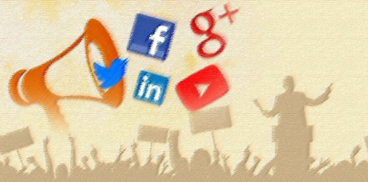 Social media follows parties on the campaign trail