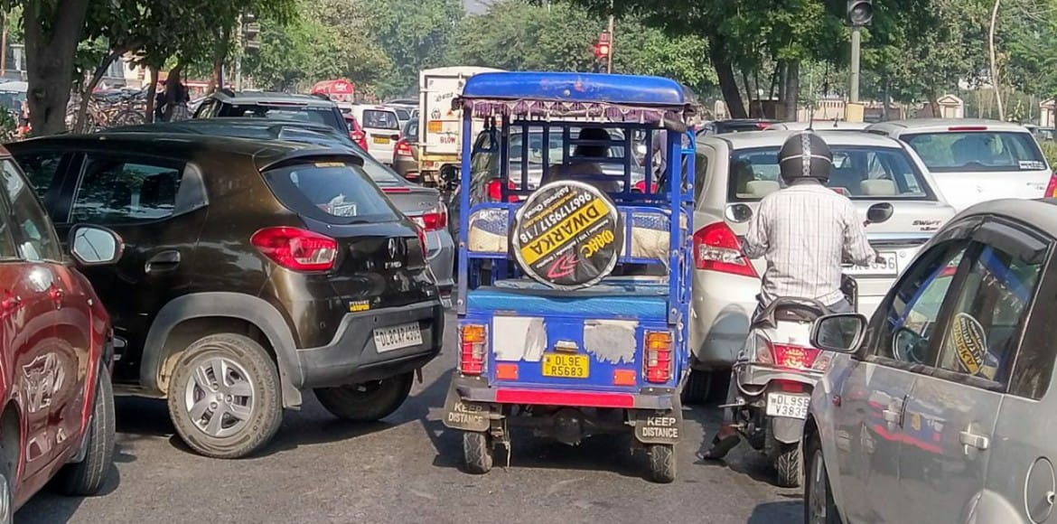 E-rickshaw – a traffic menace on Dwarka roads