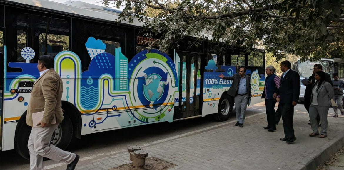 Ghaziabad to receive fleet of 50 electric buses in
