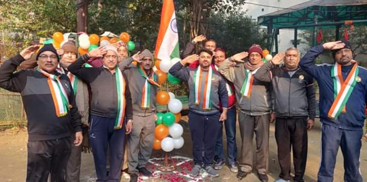 PHOTO KATHA: East Delhi residents come together to celebrate Republic Day
