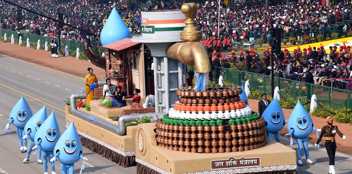 Republic Day: Ministry of Jal Shakti, NDRF named b