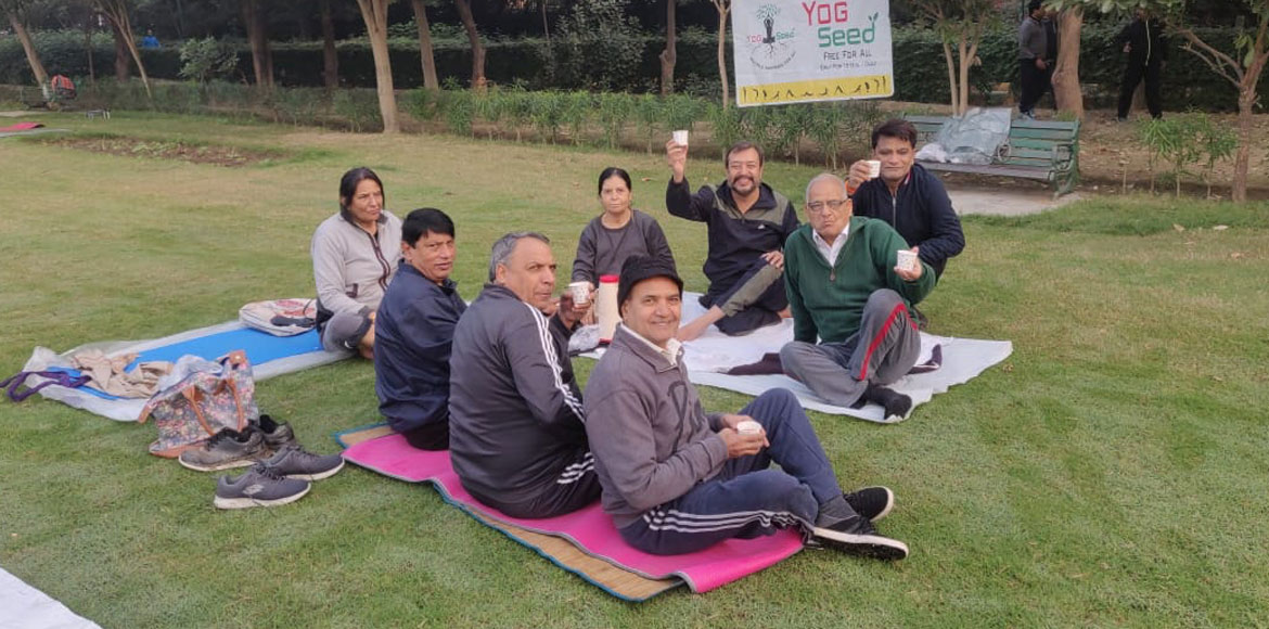 RESIDENT SPEAK: Beat the chill, stay fit with Yog Seed