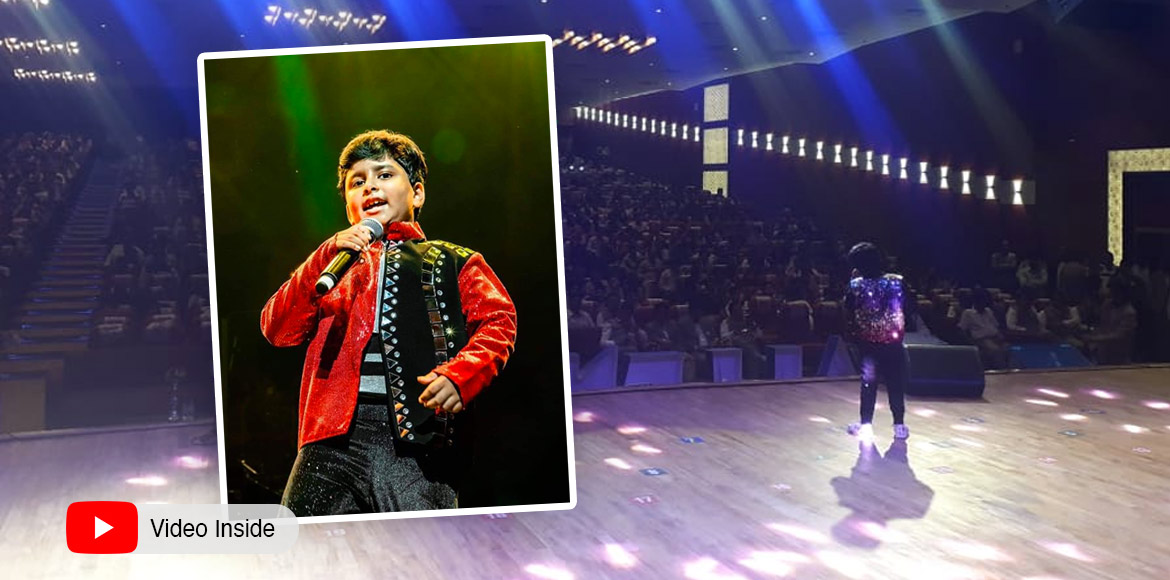 At 8, Delhi's Jayas a singing sensation with big-time assignments under his belt