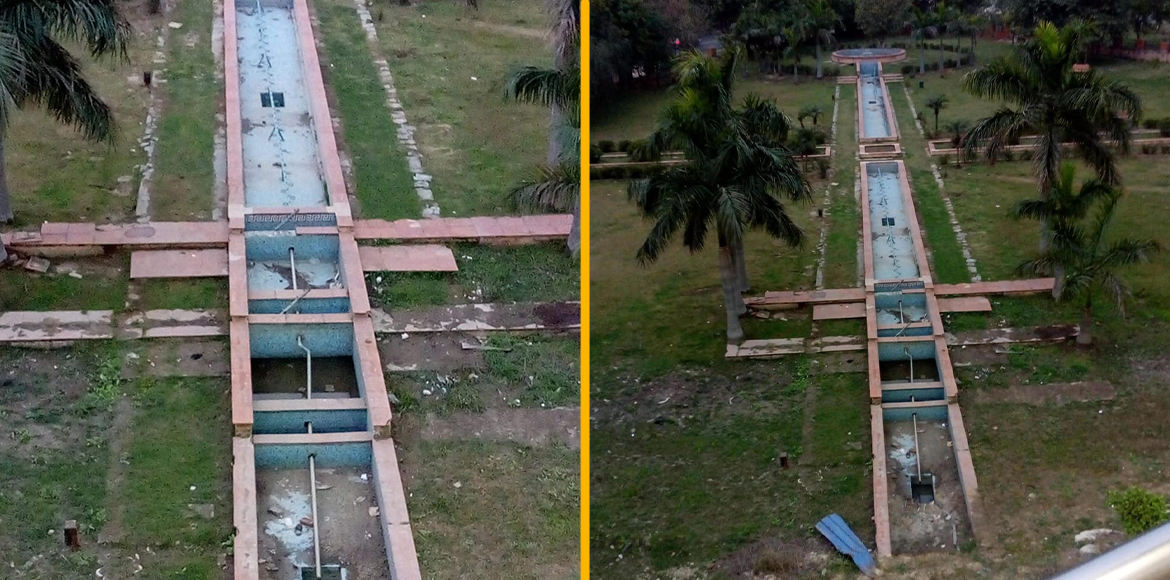 Greater Noida: Park in bad shape irks passersby