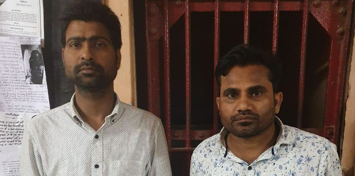 Gaur City: Two tenants nabbed for bank fraud with forged identity cards
