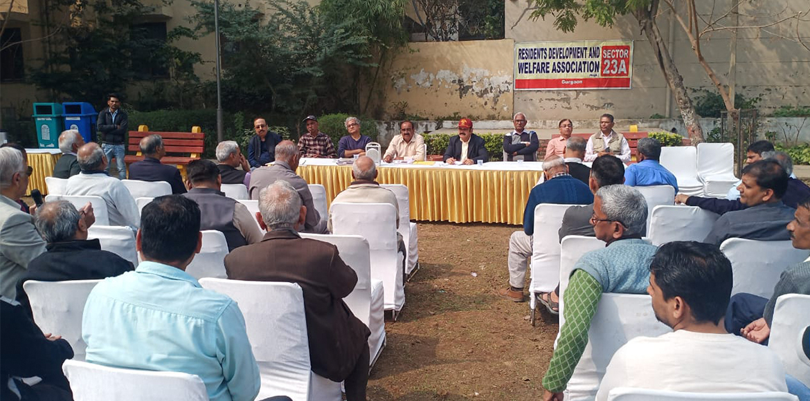 Gurugram: AGM of RWA held in Sec 23A; many issues discussed