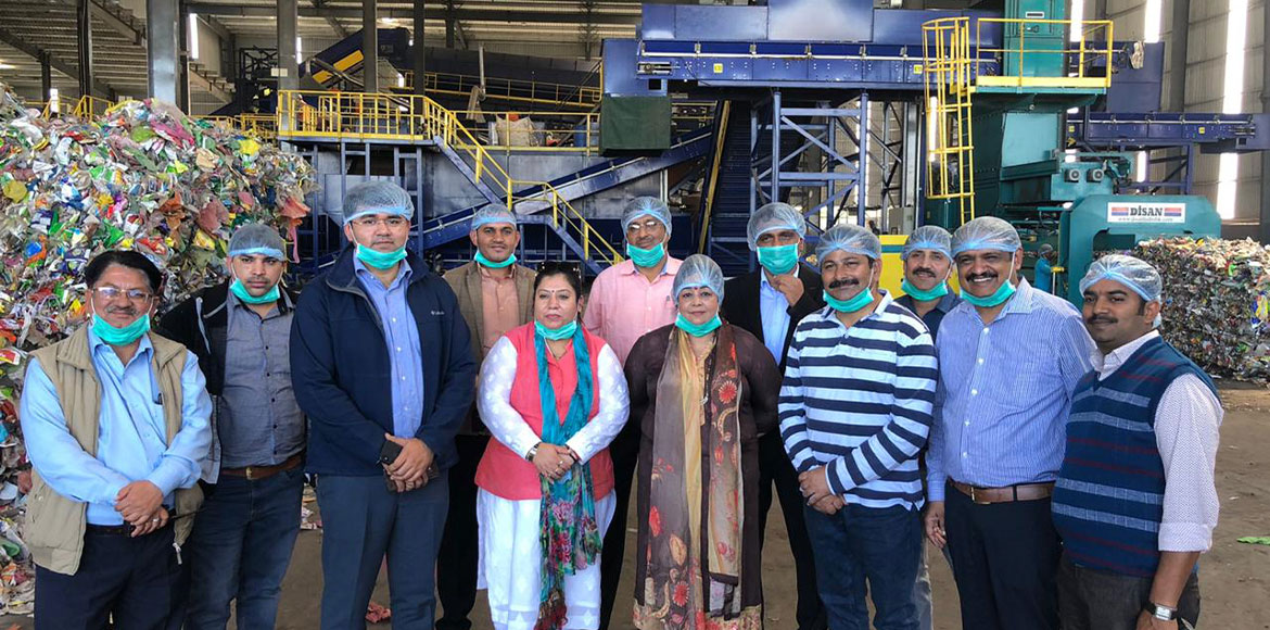 MCG delegation on a study tour to Indore, the cleanest city