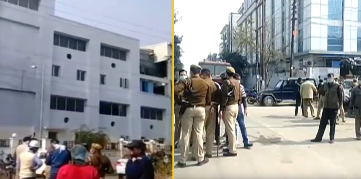 Noida: 1 dead, 300 evacuated after ammonia gas lea