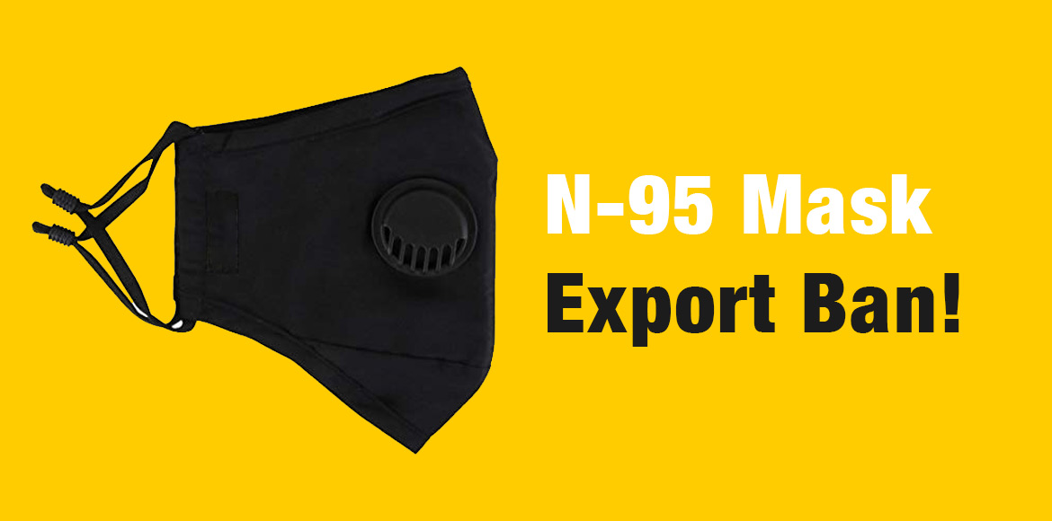 With corona in the backdrop, Health Ministry bans export of N-95 Mask