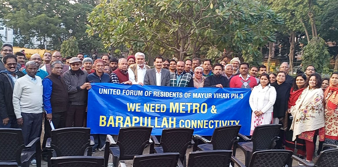 Mayur Vihar 3: Demand for metro connectivity gets