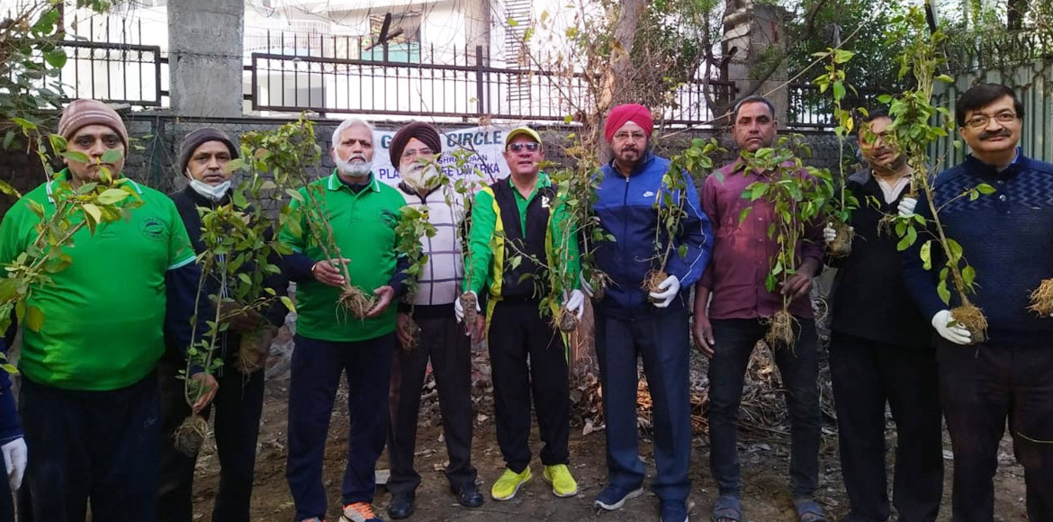 RESIDENT SPEAK: Green Circle takes care of neglected park in Dwarka