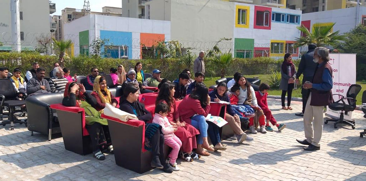 Awareness session on effective waste management conducted at Sare Homes