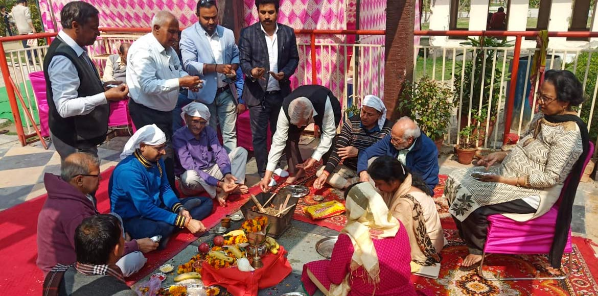 From hopeless to hopeful: Bhumi Pujan at Amrapali
