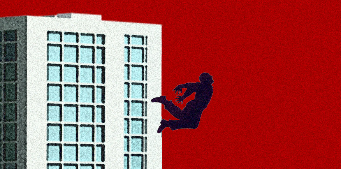 Noida man jumps off 10th floor, dies