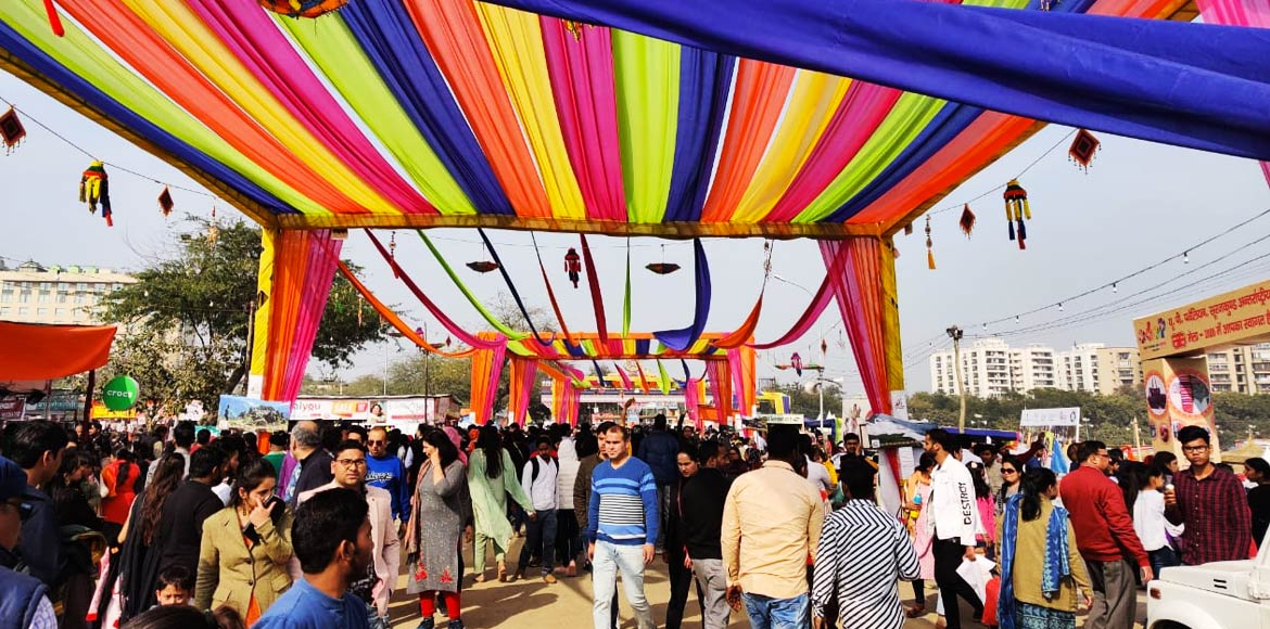 A last-minute glimpse of the Surajkund Mela