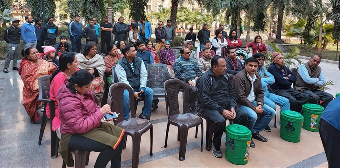 Awareness programme on solid waste management held at Amrapali Silicon city