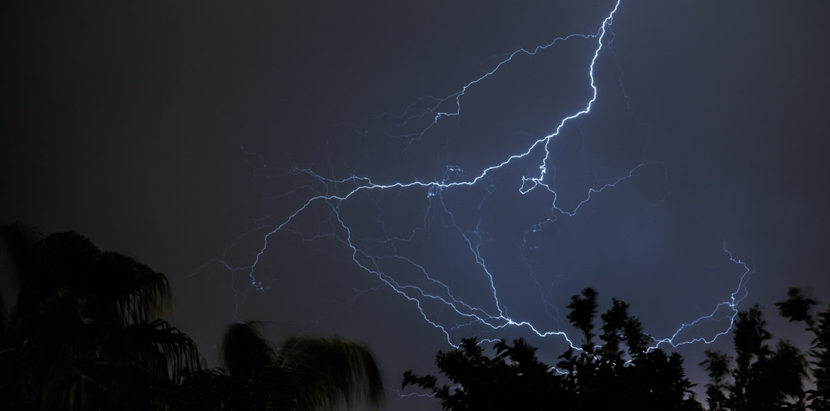 Thunderstorm with lightning likely on Wednesday