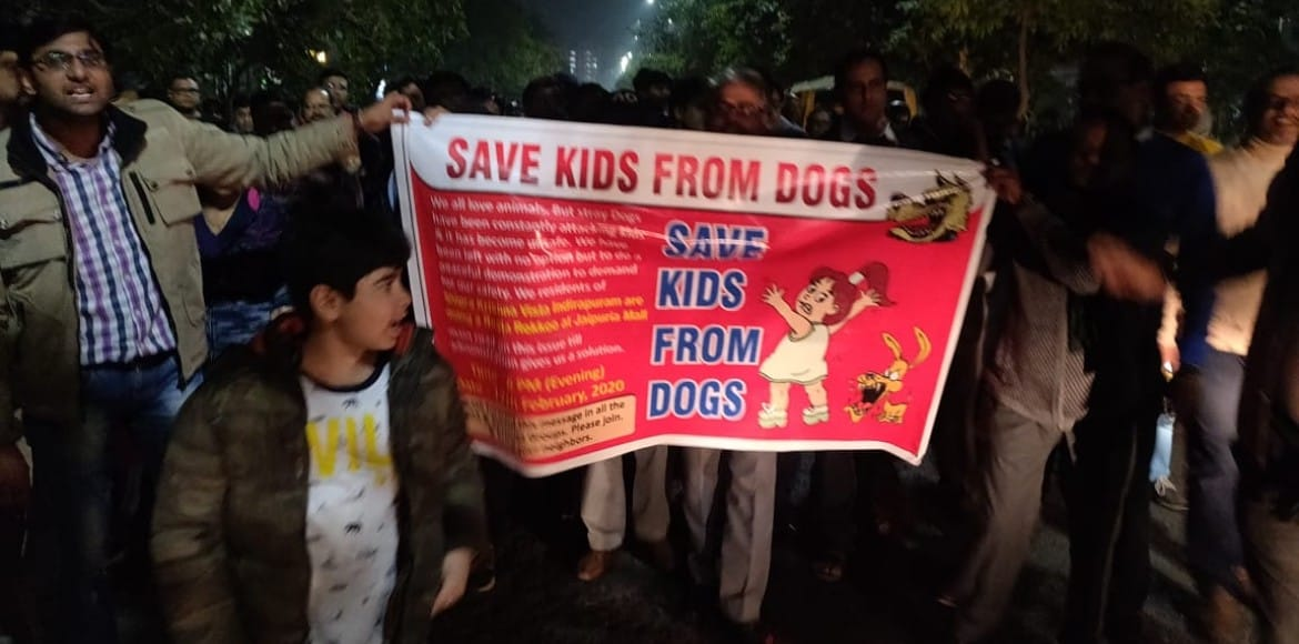 Indirapuram's dog bite case in quandary; PFA objects to residents' booking