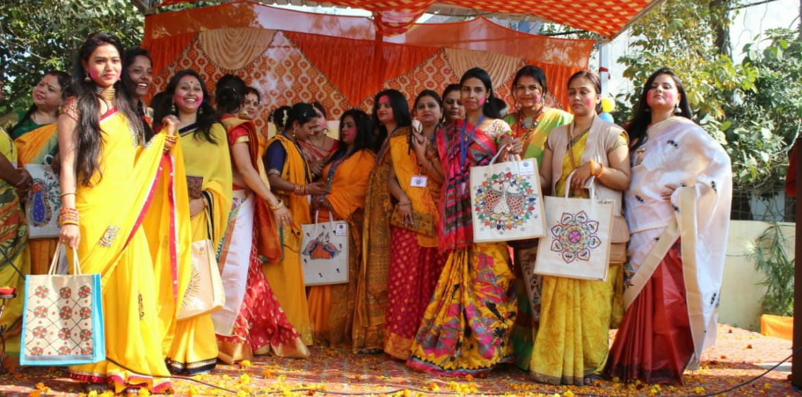 PHOTO KATHA: Basant Utsav celebrated by Mithila co