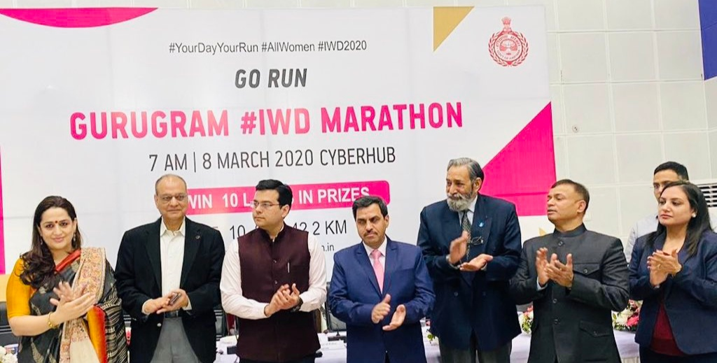 Gurugram to commemorate Women's Day with state-level all-women marathon