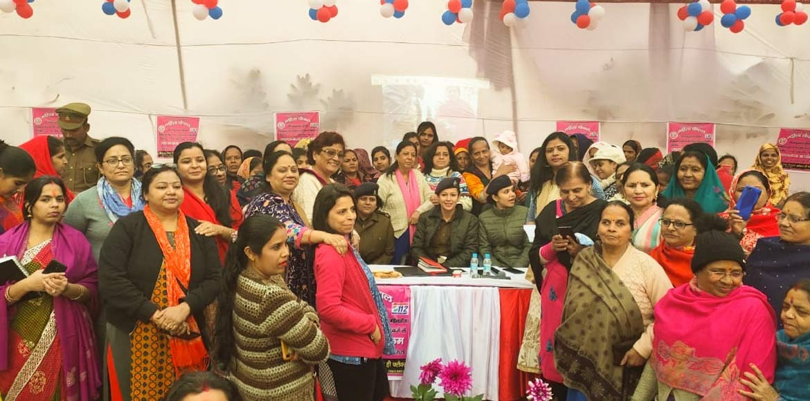 First 'Mahila Chaupal' held with great participation at GreNo West