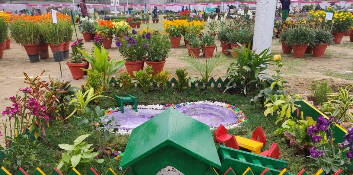 Flower show with gardening as theme to begin in Ghaziabad on Friday