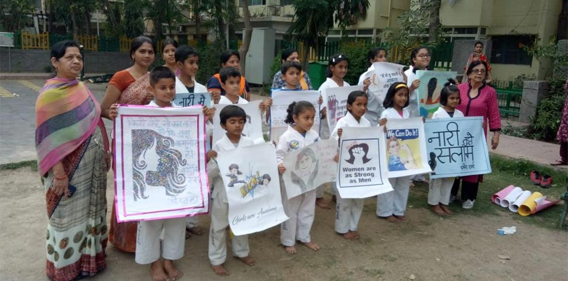 Children remember Nirbhaya as Aravalli welcomes ex