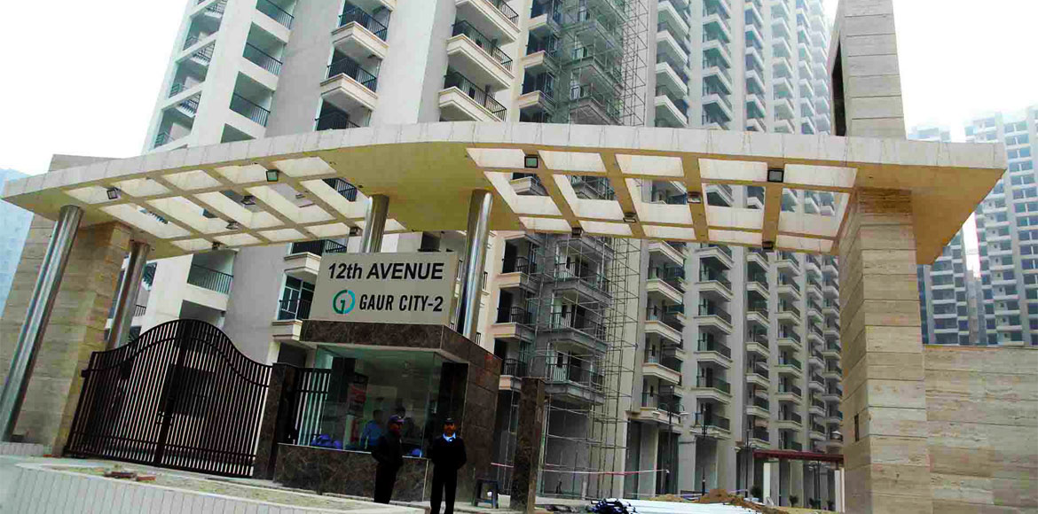 Gaur City: 12th avenue gets second AoA amidst coro