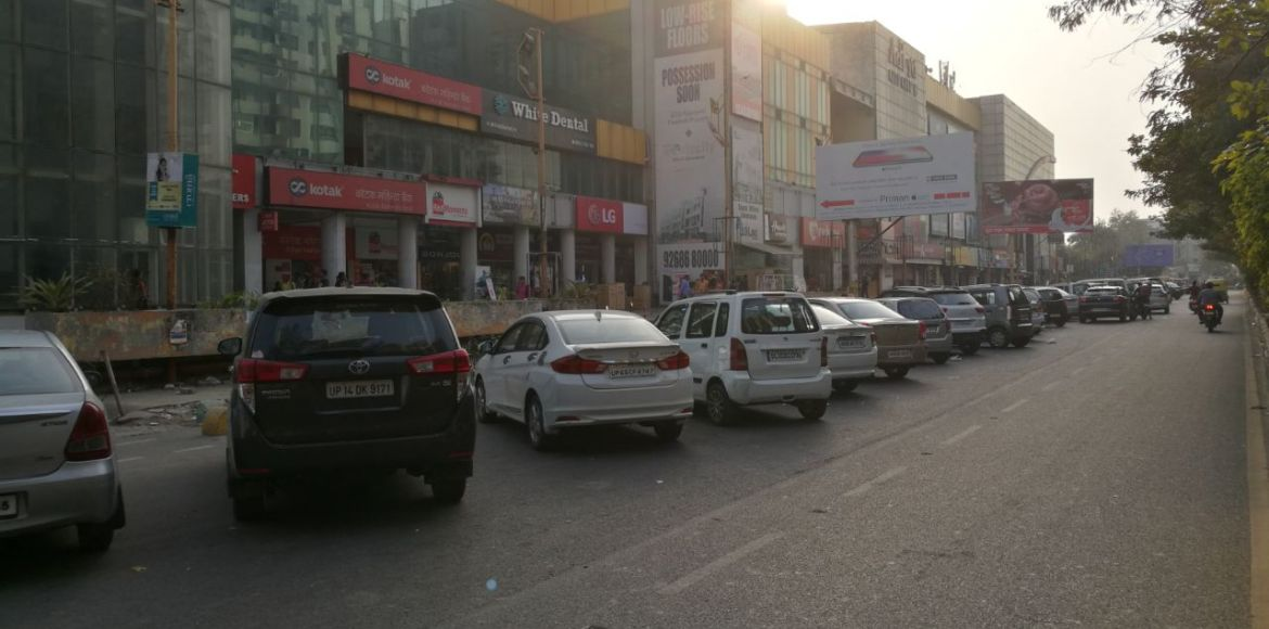 Ghaziabad's 'model road' project stalled due to lack of funds