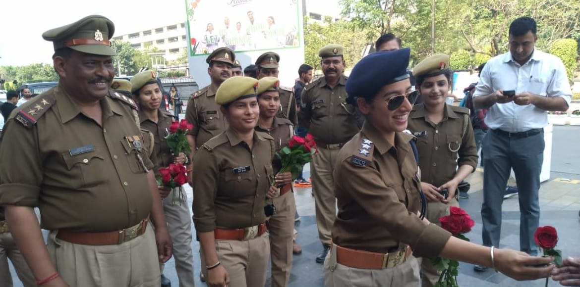 Girl from La Residentia lives her IPS dream, albeit for a day, Women's Day