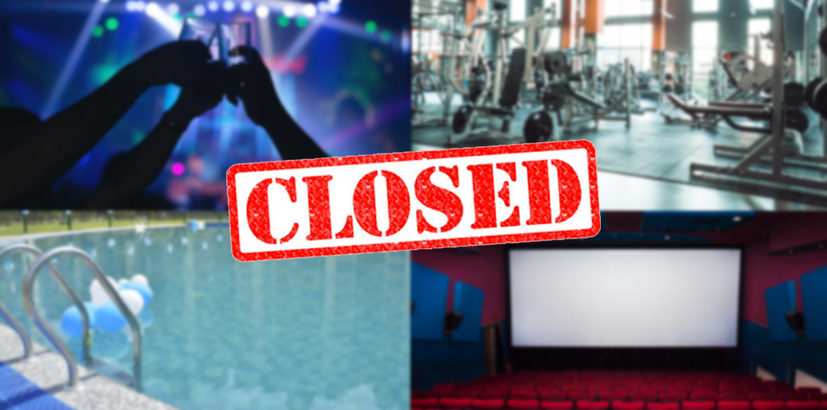 Cinema halls, gyms shut in Gurugram to deal with c