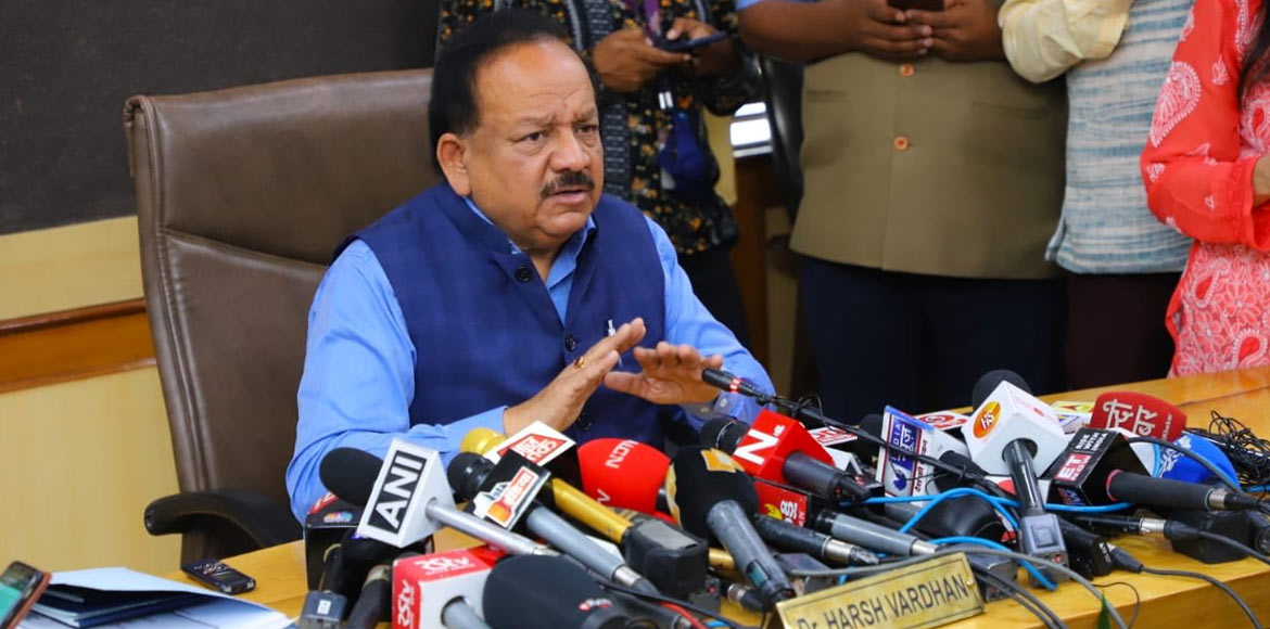 66 in contact with corona patient under scanner, assures Health Minister Vardhan